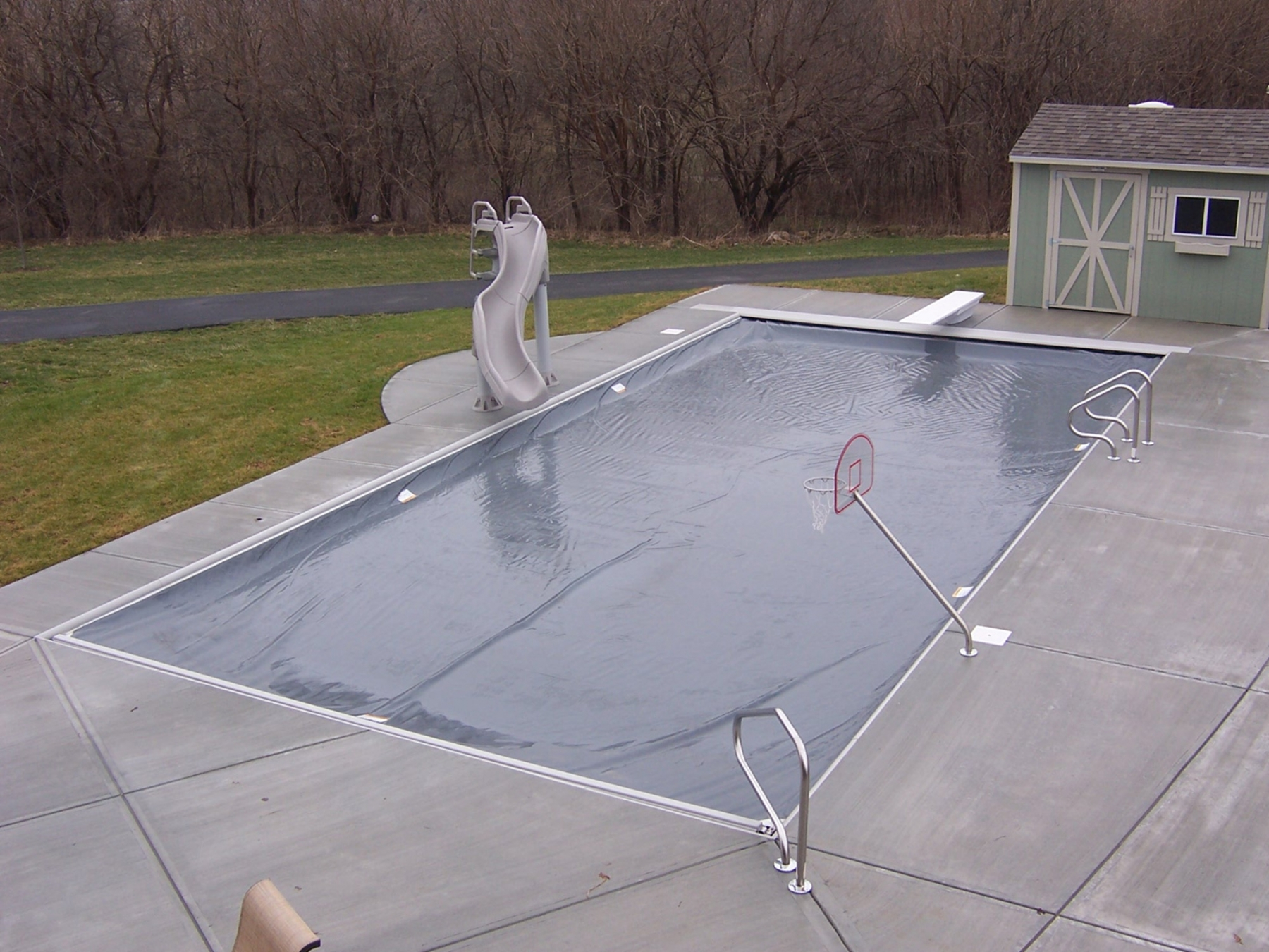 Three sixty five system automatic pool covers - Electric swimming pool covers cost ...